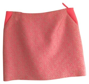 Ted Baker Mini Skirt Bright pink