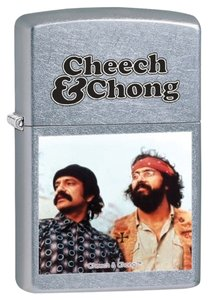 Zippo Zippo Lighter Silver Cheech & Chong 28474