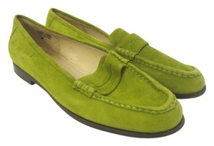 Hugo Buscati Lime Green Pumps