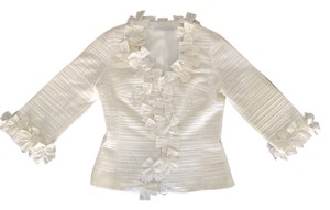 Anne Fontaine Luxury Top Ivory