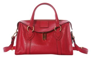 Marc Jacobs Small Fulton Leather Mj.j0408.04 Red Satchel