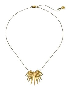 Michael Kors w/BONUS-Gold-Tone Tribal Pendant Necklace