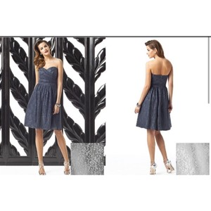 Dessy Charcoal Gray 2865 Dress