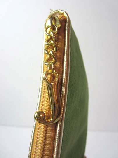 Juicy Couture Wristlet in Lime Green, Goldtone
