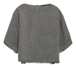 Zara J Brand Rag & Bone Top Dark Gray
