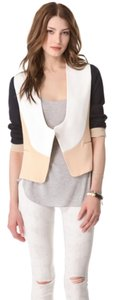 Diane von Furstenberg Dvf Colorblock Jacket Navy blue, ivory, tan/blush Blazer
