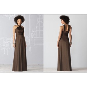 After Six Espresso 6624 Dress