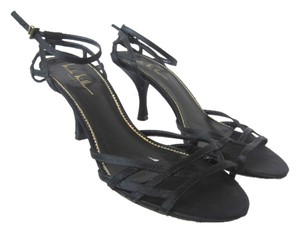 Nicole Miller Black Sandals