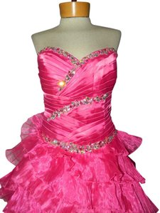 Precious Formals Prom Pageant Sparkle Beaded Princess Dress