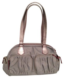 MZ Wallace Bag - Satchel in Gray / Silver