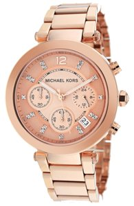 Michael Kors MK5277 Michael Kors Women's Parker Rose Gold Watch.