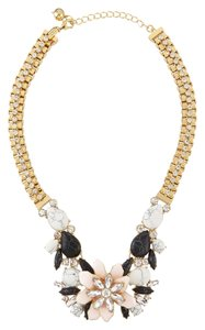 Kate Spade NEW!!! Kate Spade New York Floral Cluster Summer Statement Bib Gold Necklace NWT