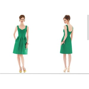 Alfred Sung Emerald D658 Dress