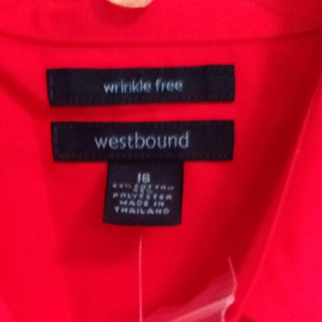 Westbound Button Down Shirt Red
