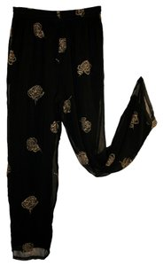 Together Evening Wear Loose Fitting Baggy Pants Black