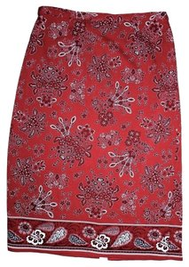 Coldwater Creek Maxi Skirt Red