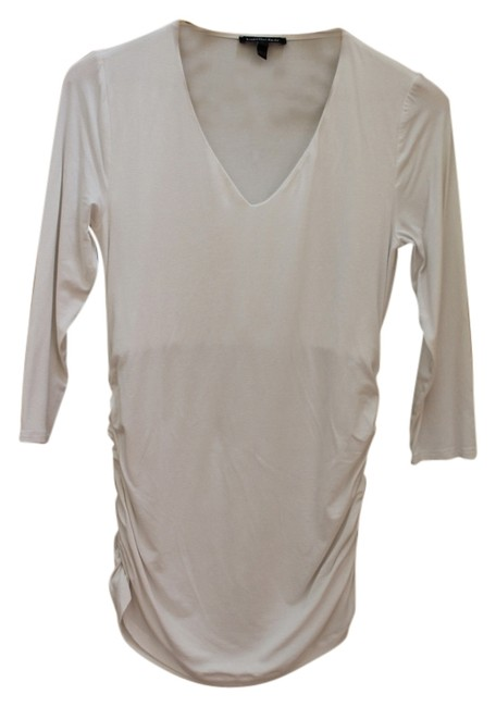 Item - White Maternity Top Size 2 (XS, 26)