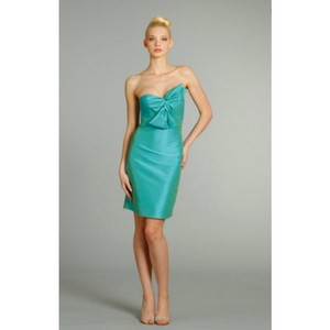 Jim Hjelm Occasions Turquoise 5256 Dress