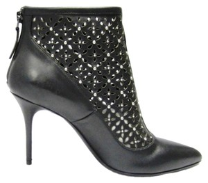 Alexander McQueen New Leather Black Boots