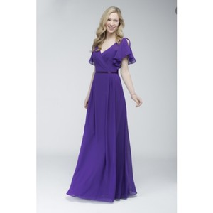 Wtoo Pansy With Eggplant Sash 706 Dress