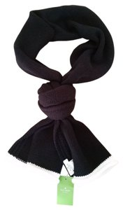 Kate Spade Kate Spade Black and Ivory Scarf