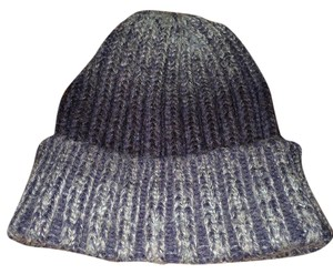LF Blue tie dye super warm wool hat