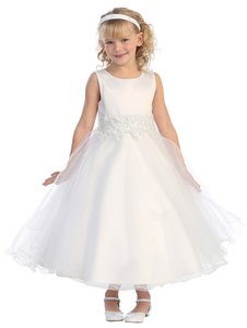 Tip Top Kids Flower Commiunion Ankle Lenght Dress