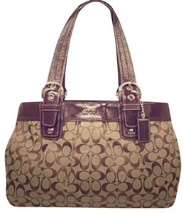 Coach Tote Satchel Shoulder Bag