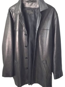 Golden Bear Man's Leather Coat Leather Jacket