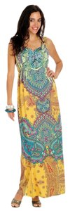 GOLD / MULTICOLOR Maxi Dress by One World