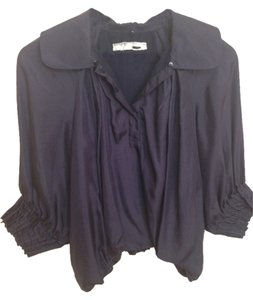 Silk Top Purple