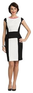 Roz & Ali Knit Wedding Peplum Fitted Dress