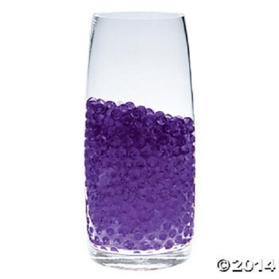 Purple Water Pearl Wedding Centerpiece Fill Out Vase Filler - Tradesy