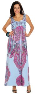 BLUE / MULTICOLOR Maxi Dress by One World