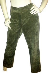 Coldwater Creek Soft Comfortable Boot Cut Pants Green