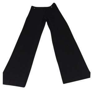 Ellen Tracy Flare Pants Navy Blue