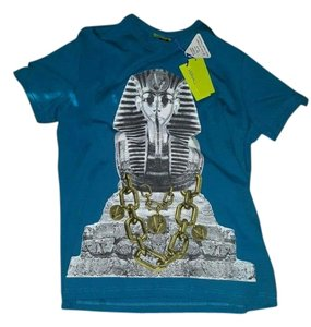 Versace T Shirt Blue