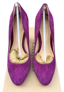 Cole Haan Chelsea Velvet Purple / Masquerade Pumps
