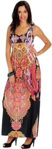 BLACK / MULTICOLOR Maxi Dress by One World