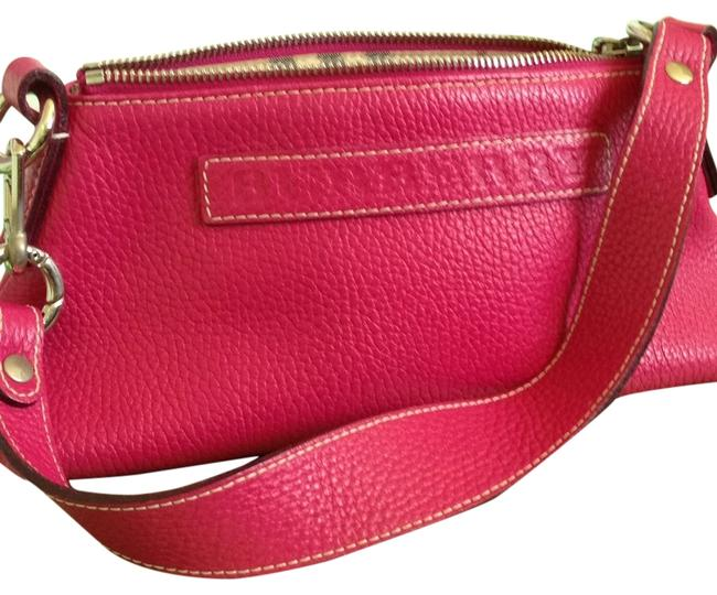 Item - Hot Pink Leather Baguette
