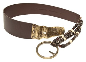 Chico's Ladies Leather Beaded Belt