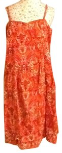 Tommy Hilfiger short dress Multi more orange on Tradesy