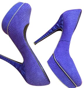 Rachel Roy Purple Platforms