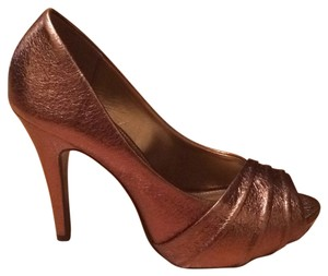 Kelly & Katie Bronze Platforms