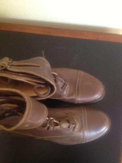 Frye Tobacco Brown Boots