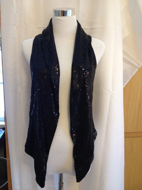 Other Sequin Dressy Festive Top Black