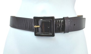 St. John ST. JOHN BLACK LEATHER BELT P ** LENGTH 28.5