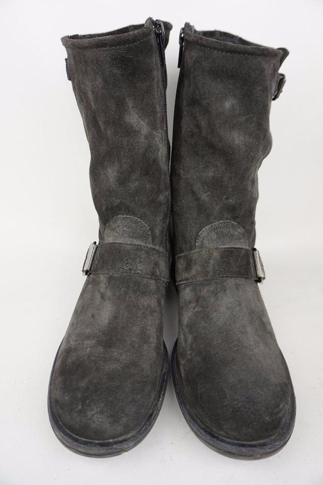 paul green suri suede short gray boots boots booties on sale. Black Bedroom Furniture Sets. Home Design Ideas