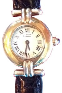 Cartier Cartier Le Must Colisee 18k Gold Over Sterling Silver $300.00 Price Drop This Week Only.