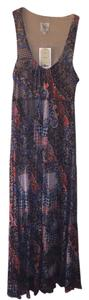 Multicolor Maxi Dress by Weston Wear